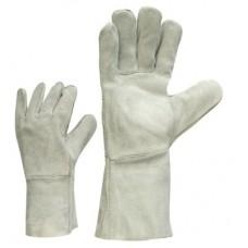 Перчатки сварщика кожанные